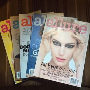 🛍SET OF 5 ALLURE 2018 MAGAZINES🛍